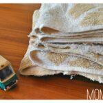 【実験】糸くずが出ない!タオルをウエスにする画期的な方法。
